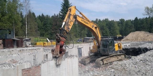 Состав работ при демонтаже металлоконструкций